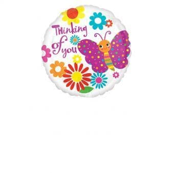 """18"""" Cute Butterfly Thinking of You"""
