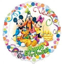 """18"""" MICKEY MOUSE & FRIENDS PARTY BIRTHDAY"""