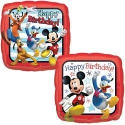 """18"""" MICKEY MOUSE ROADSTER HAPPY BIRTHDAY"""