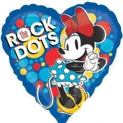 """18"""" MINNIE MOUSE ROCK THE DOTS"""