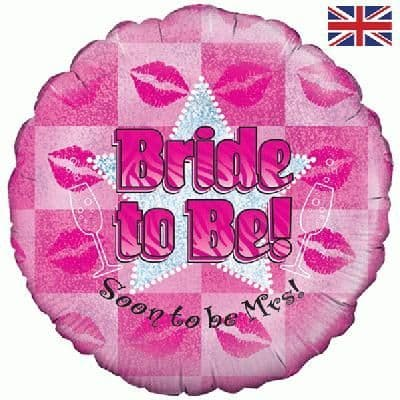"""18"""" Oaktree Bride to Be Holographic"""