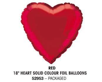 """18"""" RED HEART PACKAGED"""