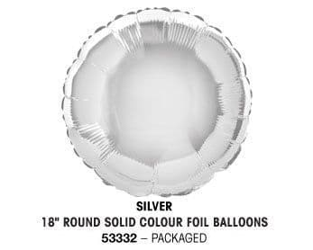 """18"""" SILVER ROUND PACKAGED"""