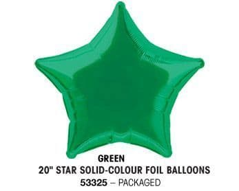 "20"" GREEN STAR PACKAGED"