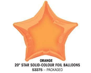 "20"" ORANGE STAR PACKAGED"