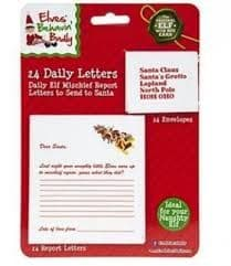 24 DAILY LETTER TO SANTA WITH ENVELOPES