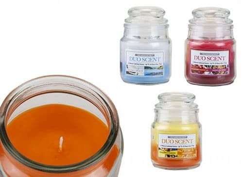 3 oz Bell Jar Candle Duo Scent gift