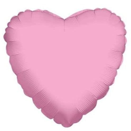"""4"""" Baby Pink Heart - Airfill Flat - requires heatseal"""