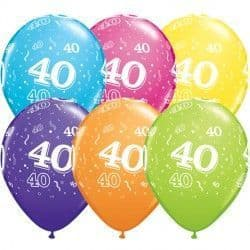 """40-A-ROUND 11"""" TROPICAL ASSORTED (50CT)"""