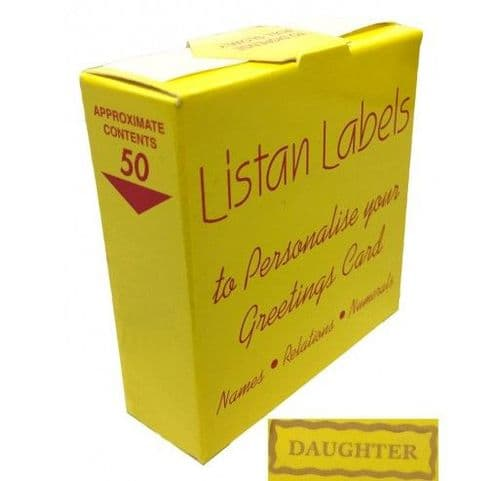 LISTANS - GOLD - Daughter