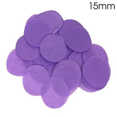 Purple Paper Confetti 15mm