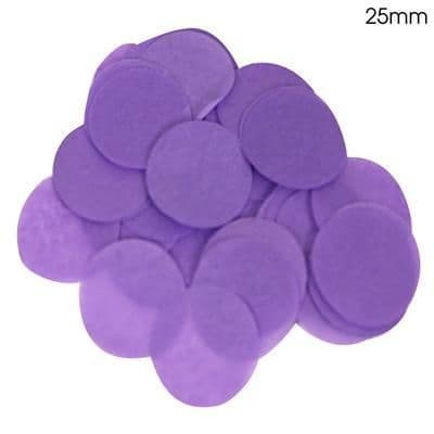 Purple Paper Confetti 25mm
