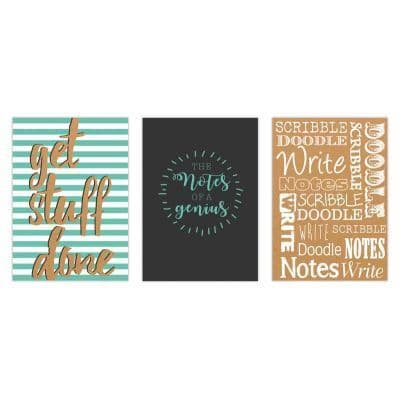 A4 Hardback Notebook quotes