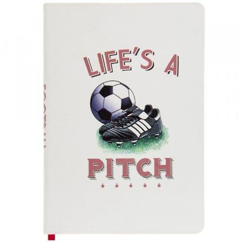 A5 Football Notebook