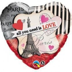 """ALL YOU NEED IS LOVE 18"""" PKT"""