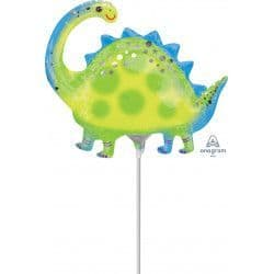 "Anagram 14"" A30 Stegosaurus Minishape Flat (REQUIRES HEATSEALING)"