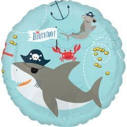 "Anagram 18"" Ahoy Birthday Packaged"