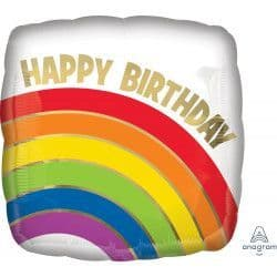 """Anagram 18"""" Gold Rainbow Packaged"""