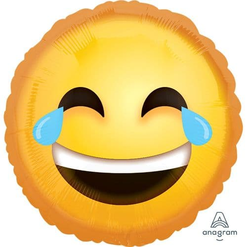 "Anagram 18"" Laughing Emoticon Packaged"