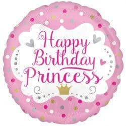 "Anagram 18"" Princess Happy Birthday Packaged"