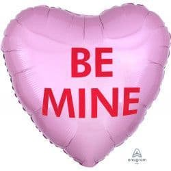 "Anagram 18"" S40 Candy Heart Be Mine Packaged"
