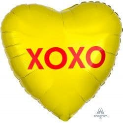 "Anagram 18"" S40 Candy Heart XOXO Packaged"
