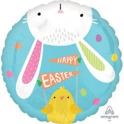 "Anagram 18"" S40 Hello Bunny Easter Packaged"