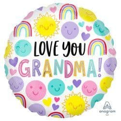"Anagram 18"" S40 Love You Grandma Packaged"