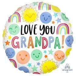 "Anagram 18"" S40 Love You Grandpa Packaged"