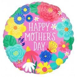 """Anagram 18"""" S40 Pretty Flowers Happy Mother's Day Packaged"""