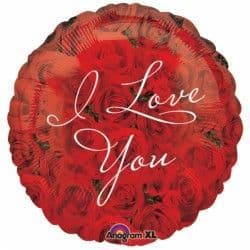 "Anagram 18"" S40 Roses I Love You Packaged"