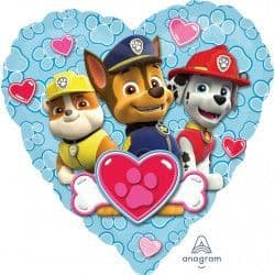"Anagram 18"" S60 Paw Patrol Love Boy Packaged"