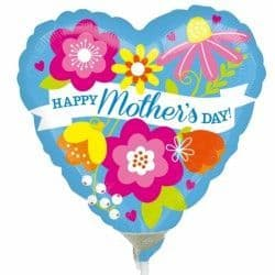 """Anagram 9"""" A15 Blue Happy Mother's Day Flat (REQUIRES HEATSEALING)"""