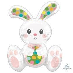 Anagram A75 Multi Balloon Sitting Easter Bunny Packaged