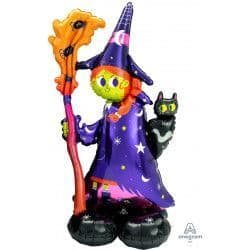 "ANAGRAM AIRLOONZ P70 SHAPE SCARY WITCH PKT (24"" X 55"")"