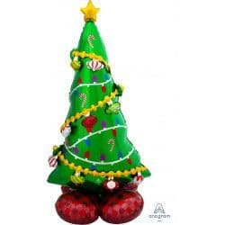 "ANAGRAM CHRISTMAS TREE P70 AIRLOONZ PKT (31"" X 59"")"
