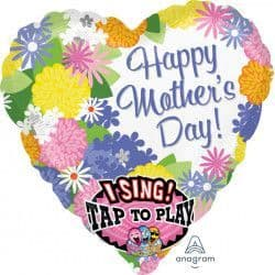 Anagram Jumbo P60 Sing A Tune Balloon Sweet Love Happy Mother's Day Packaged