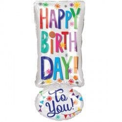 Anagram Junior Shape Exclamation Happy Birthday Packaged