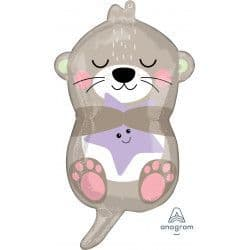 "Anagram Junior Shape Otterly Adorable 13""x23"" Packaged"