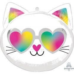 "Anagram Junior Shape S50 Kitty Cool (17""x17"") Packaged"