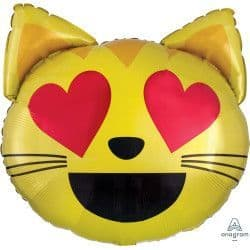 """Anagram P35 Shape Emoticon Cat Love Packaged 22""""x22"""""""