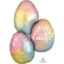 "Anagram P35 Shape Ombre Easter Eggs Packaged 25"" x 35"""