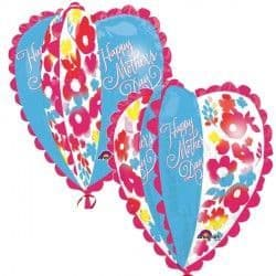Anagram P40 Ultra Shape Watercolour Heart Happy Mother's Day Packaged