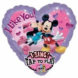 Anagram P75 Jumbo Sing A Tune Mickey & Minnie Love Packaged