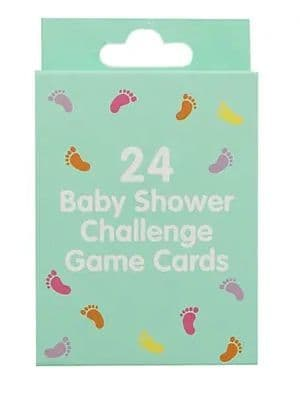 BABY SHOWER CHALLENGE GAME CARDS gift