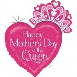 """Betallic 33"""" Shape D Happy Mother's Day Queen Packaged"""