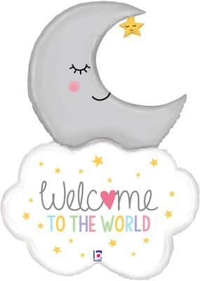 Betallic 42inch Shape Welcome Baby Moon (D) Packaged