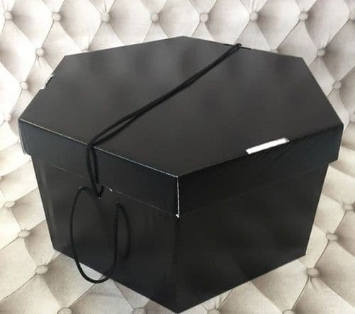 "Black Hat Box 11"" x 8""  279mm x 203mm"