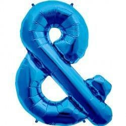 "BLUE NUMBER 0 SHAPE 16"" PKT"
