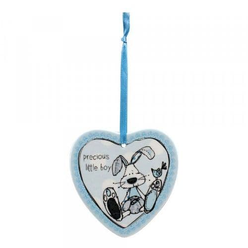 Boy Heart Plaque gift